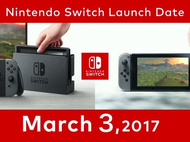 Here's the Nintendo Switch Release Date and Price