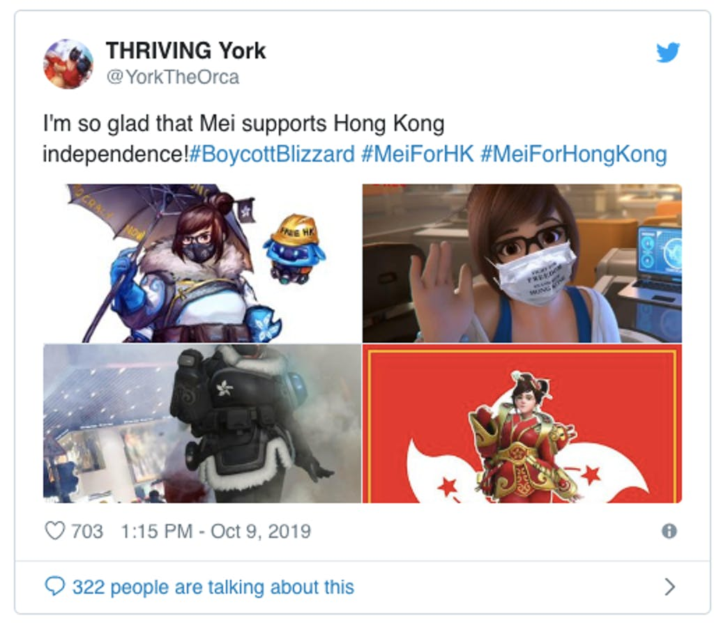 china blizzard censorship hong kong overwatch