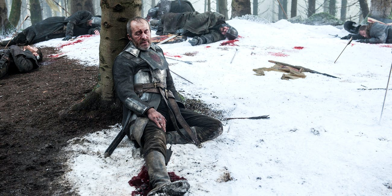 Brienne kills Stannis on 'Game of Thrones'