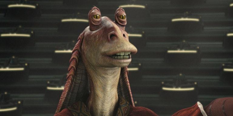 Jar Jar Binks...Sith Lord?
