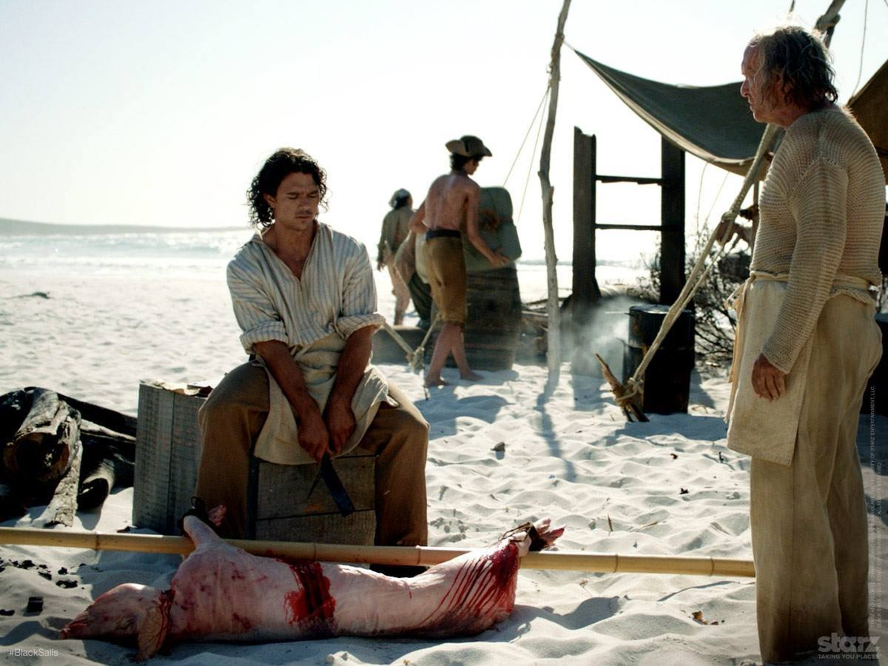 Ah, simpler times. John Silver in Season 1