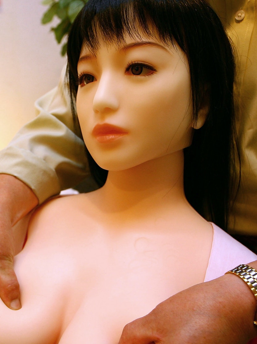 TOKYO - JUNE 16:  A life size sex doll  is displayed at Orient Industry's showroom on June 16, 2007 in Tokyo, Japan. Orient Industry, mark the 30th anniversary of producing the dolls, have developed skin type silicon-rubber to make the dolls which are available from US$1800 to US$5400 with variety of selection of bodies, faces and hairstyles.  (Photo by Koichi Kamoshida/Getty Images)
