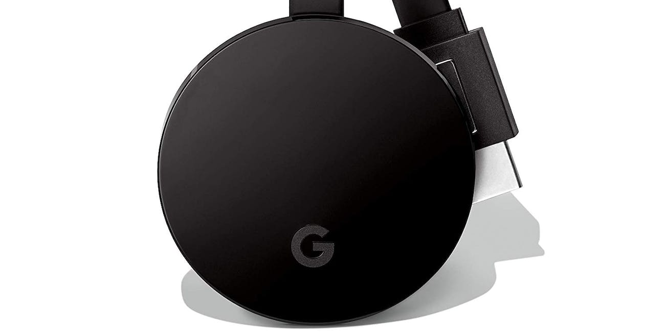 Google Chromecast Ultra media streaming device