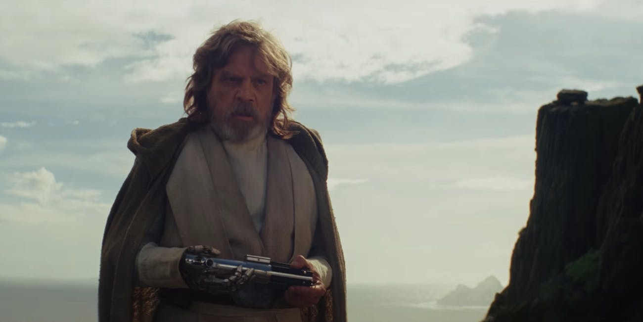 The Last Jedi Mark Hamill