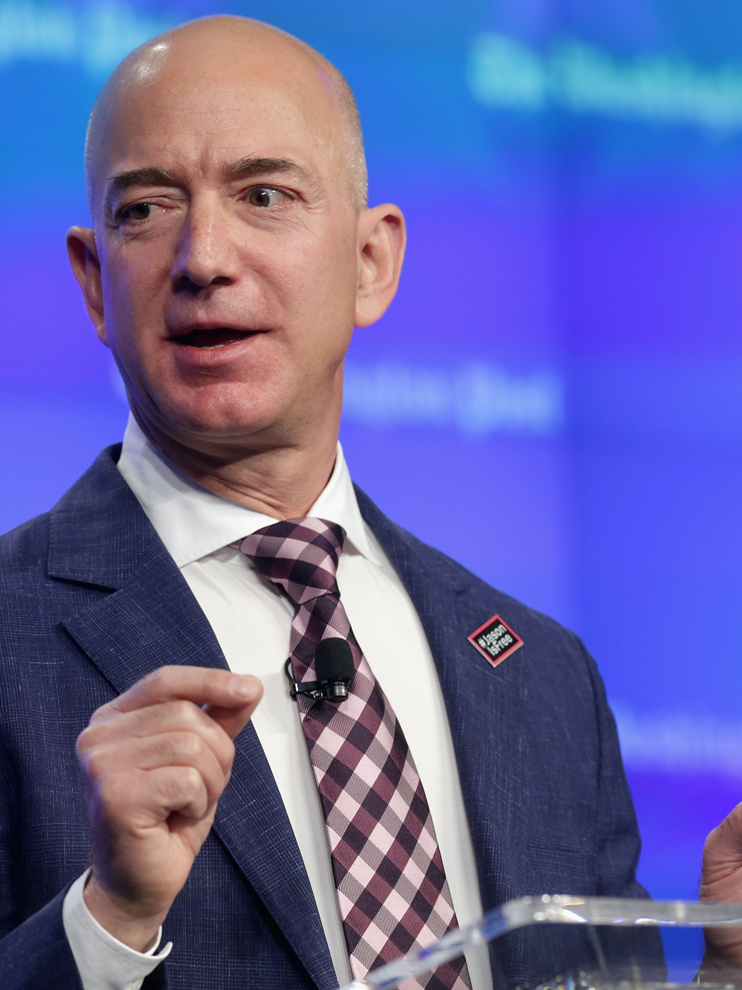 Blue Origin S Jeff Bezos Becomes World S 4th Richest Billionaire After Amazon Stock Sale Inverse