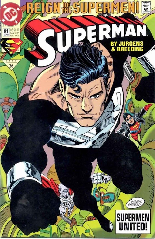 Justice League Black Suit Superman