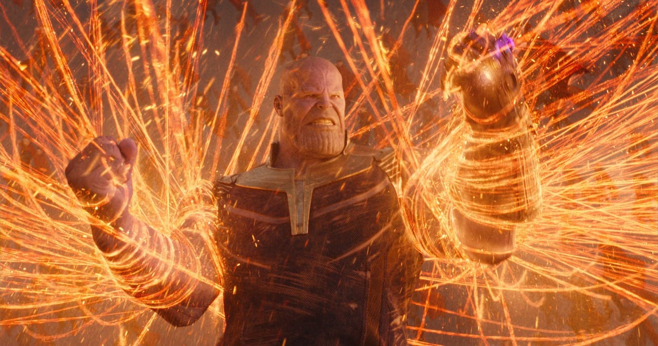 'Avengers: Infinity War' Thanos and Doctor Strange Fight