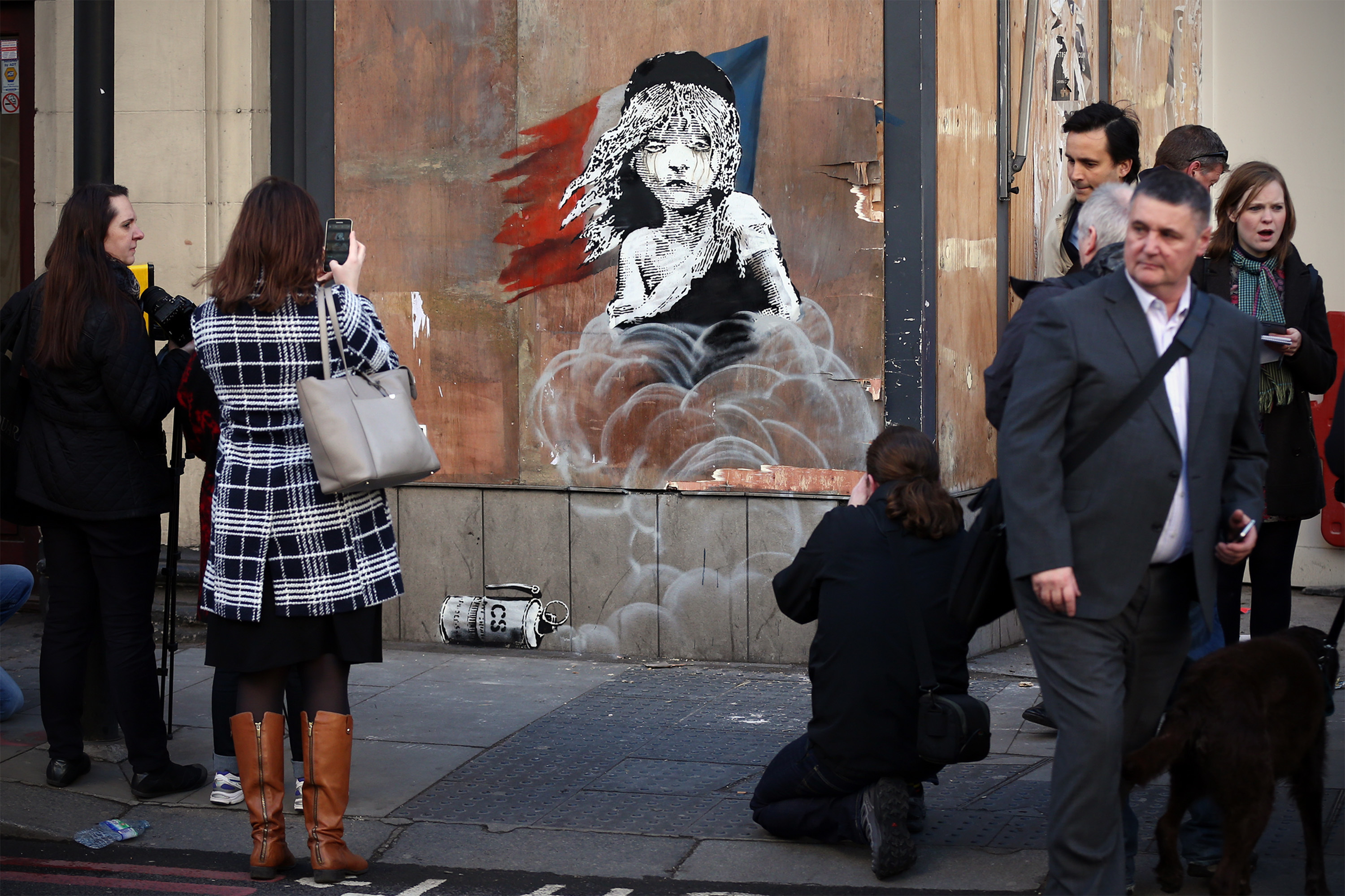 A new theory proposes that Banksy is actually a founding member of the trip-hop band Massive Attack.