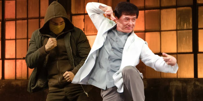 Jackie Chan Iron Fist