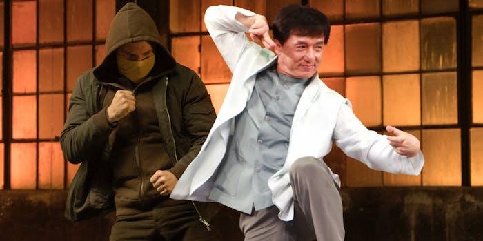 Jackie Chan Iron Fist