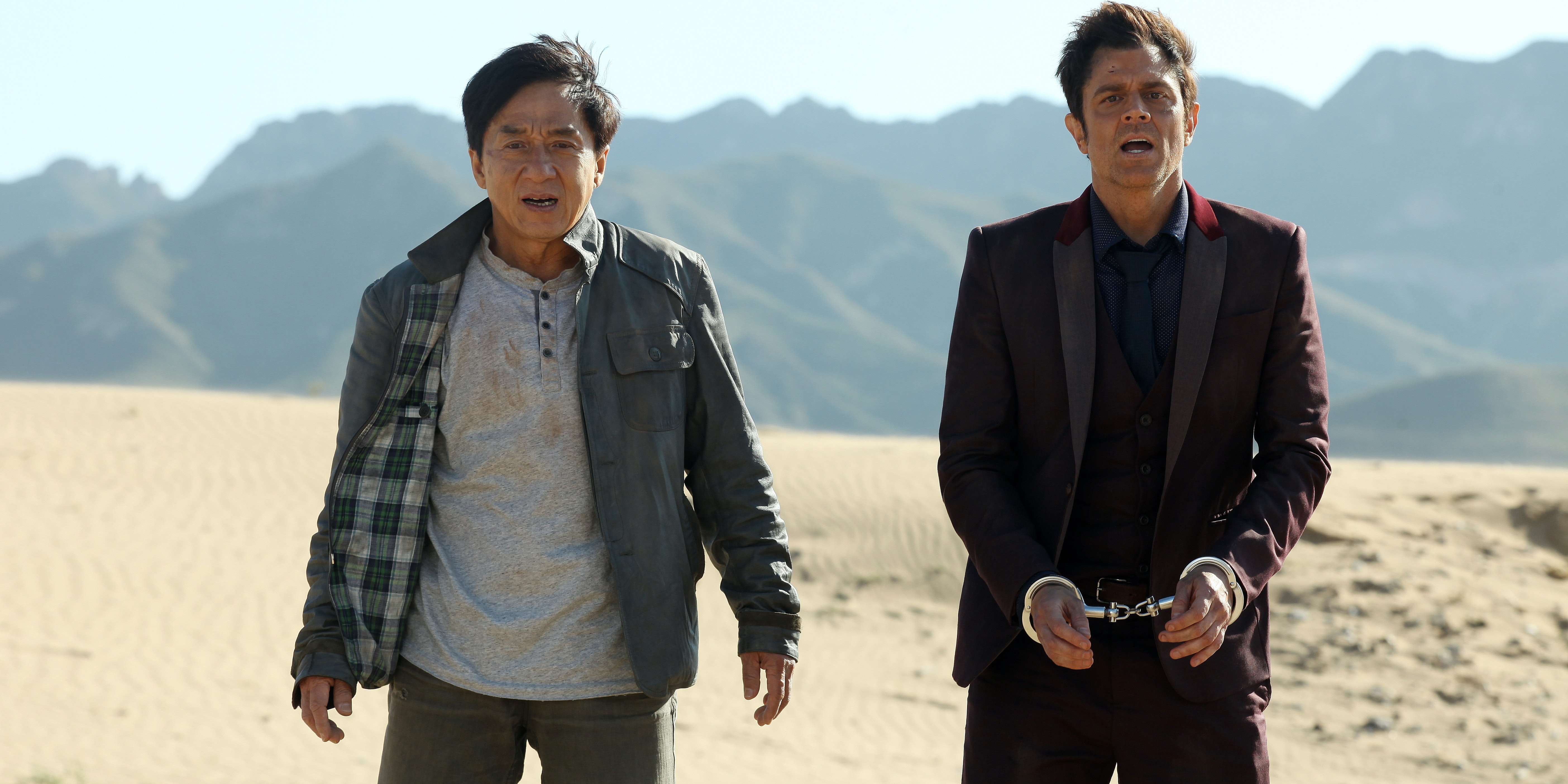 Jackie Chan, Johnny Knoxville in 'Skiptrace'