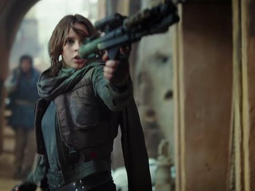 Jyn Schools Stormtroopers Rey-Style in First 'Rogue One' Clip