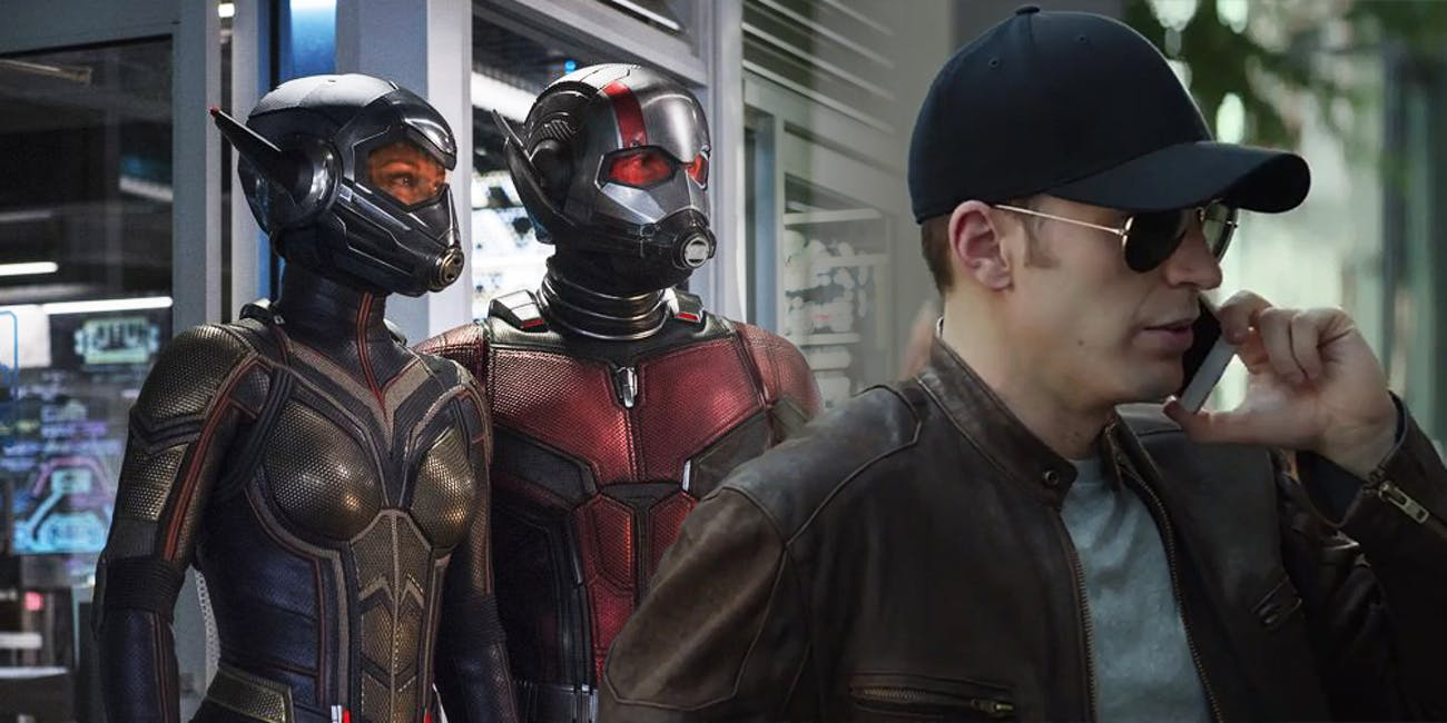 Ant-Man and the Wasp s Sneakiest Joke Makes Fun of Captain America Movies.  Cool disguise ... 2d42cbf4fbe0