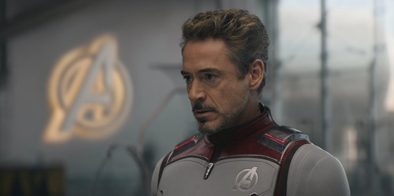 avengers endgame iron man tony stark white suit