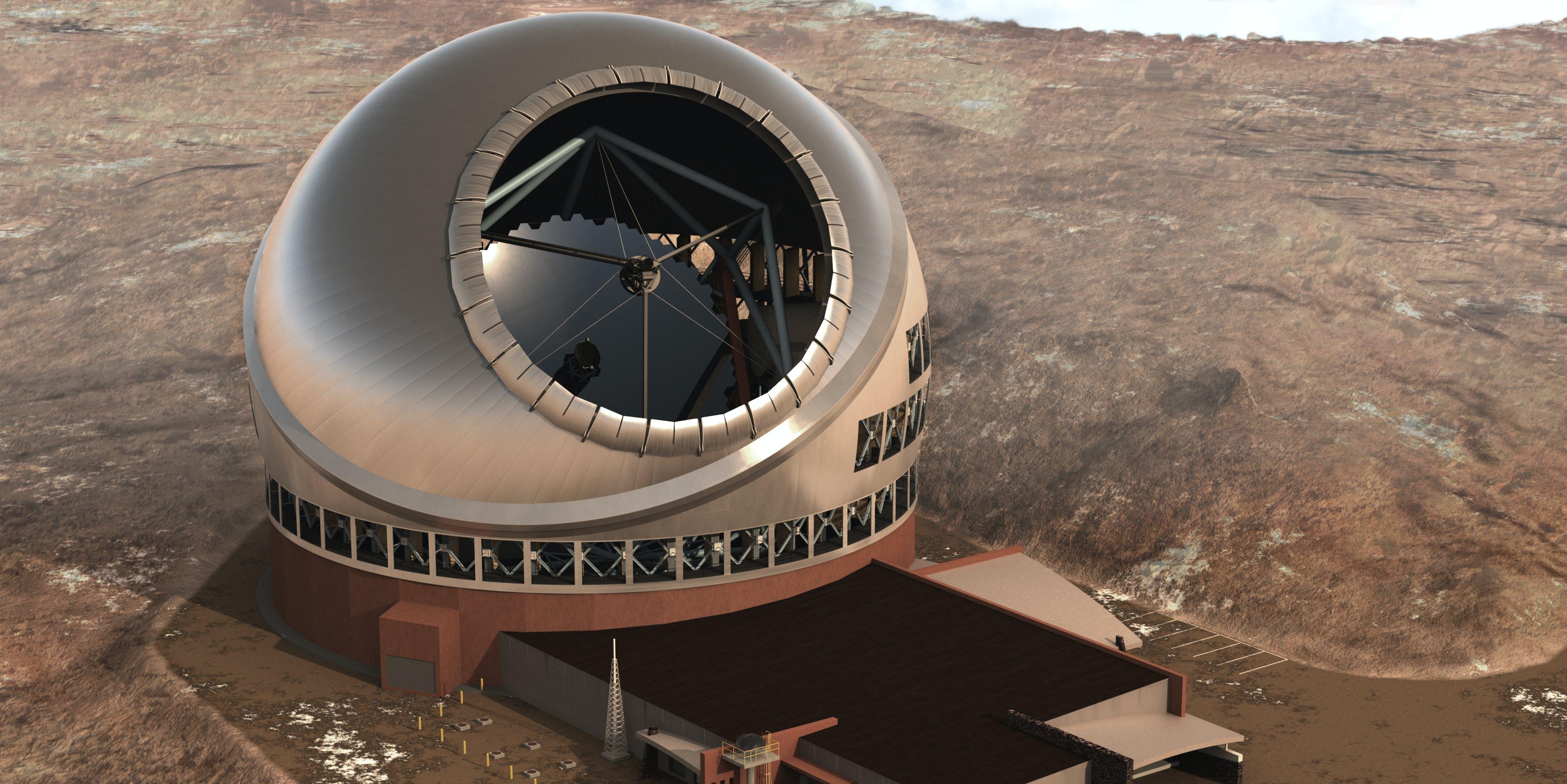 thirty meter telescope mauna kea