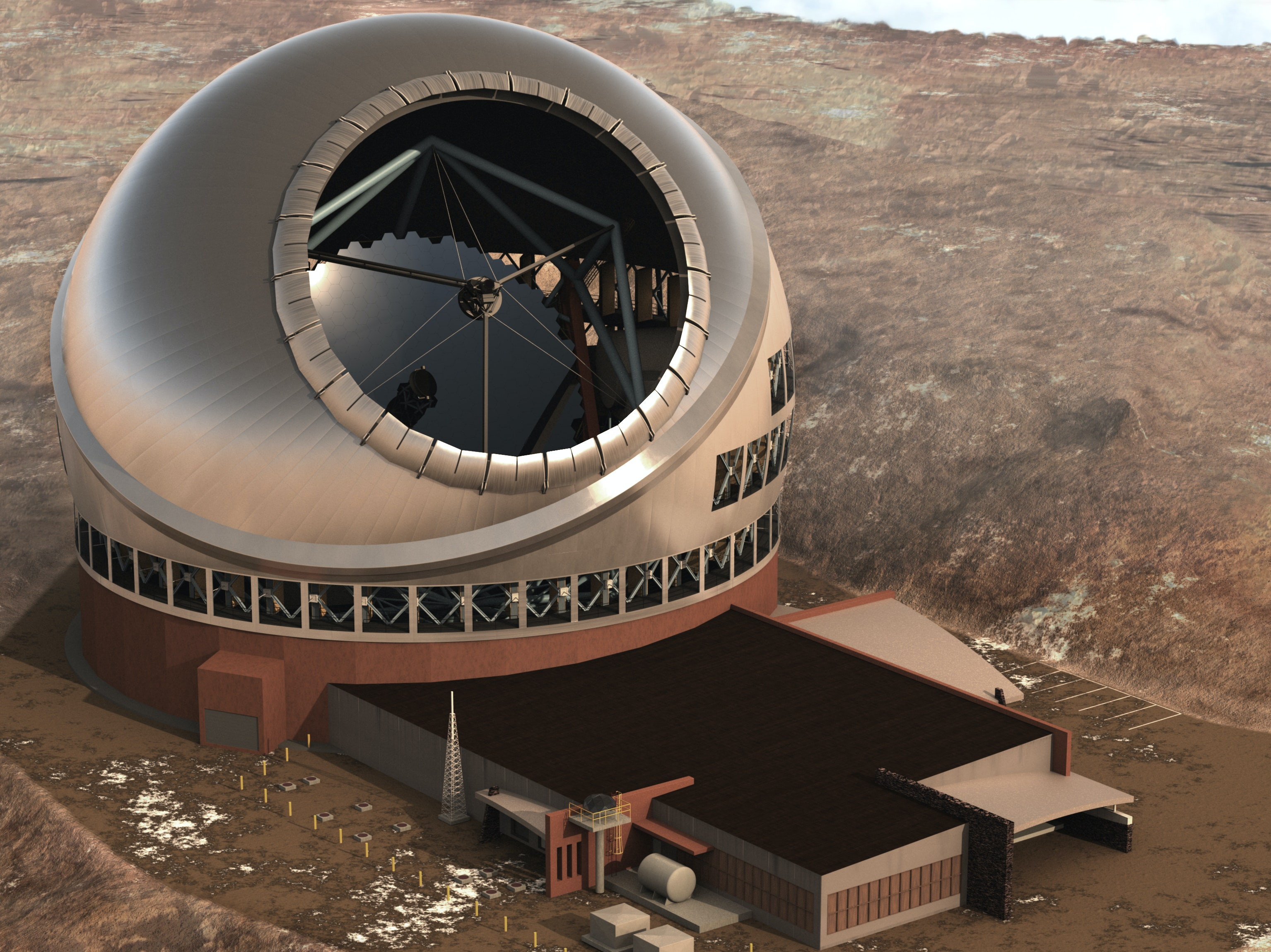 Hawaiians' Outcry Could Relocate World's Largest Telescope