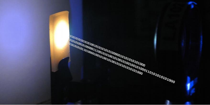 Lights will transmit internet connectivity.