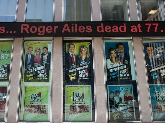 How Fox News Founder Roger Ailes Shaped the Left Wing Media, Too