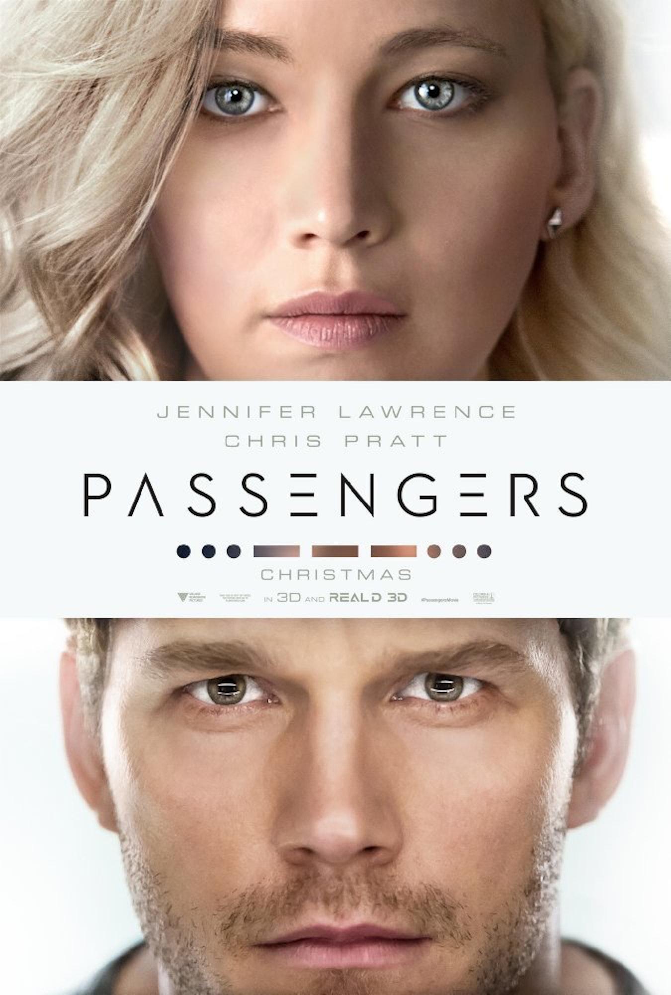 Passengers movie poster