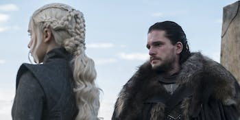 Are Jon and Dany two of the most good and good-looking characters?