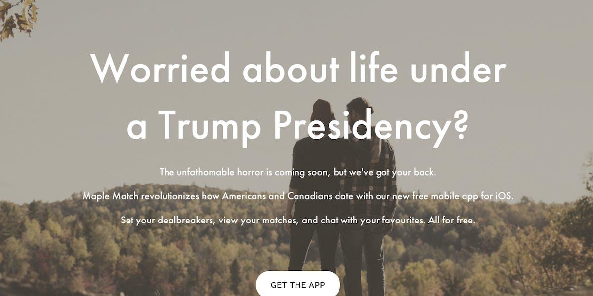 Maple Match's website.