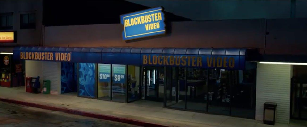 'Captain Marvel' Blockbuster Video