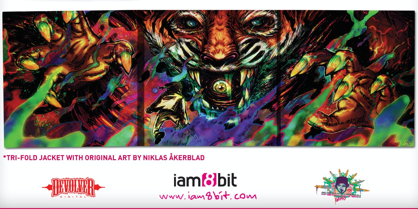 Hotline Miami 2 was iam8bit's first vinyl release.