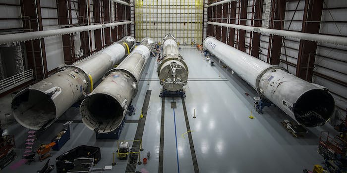 SpaceX Falcon 9 rockets
