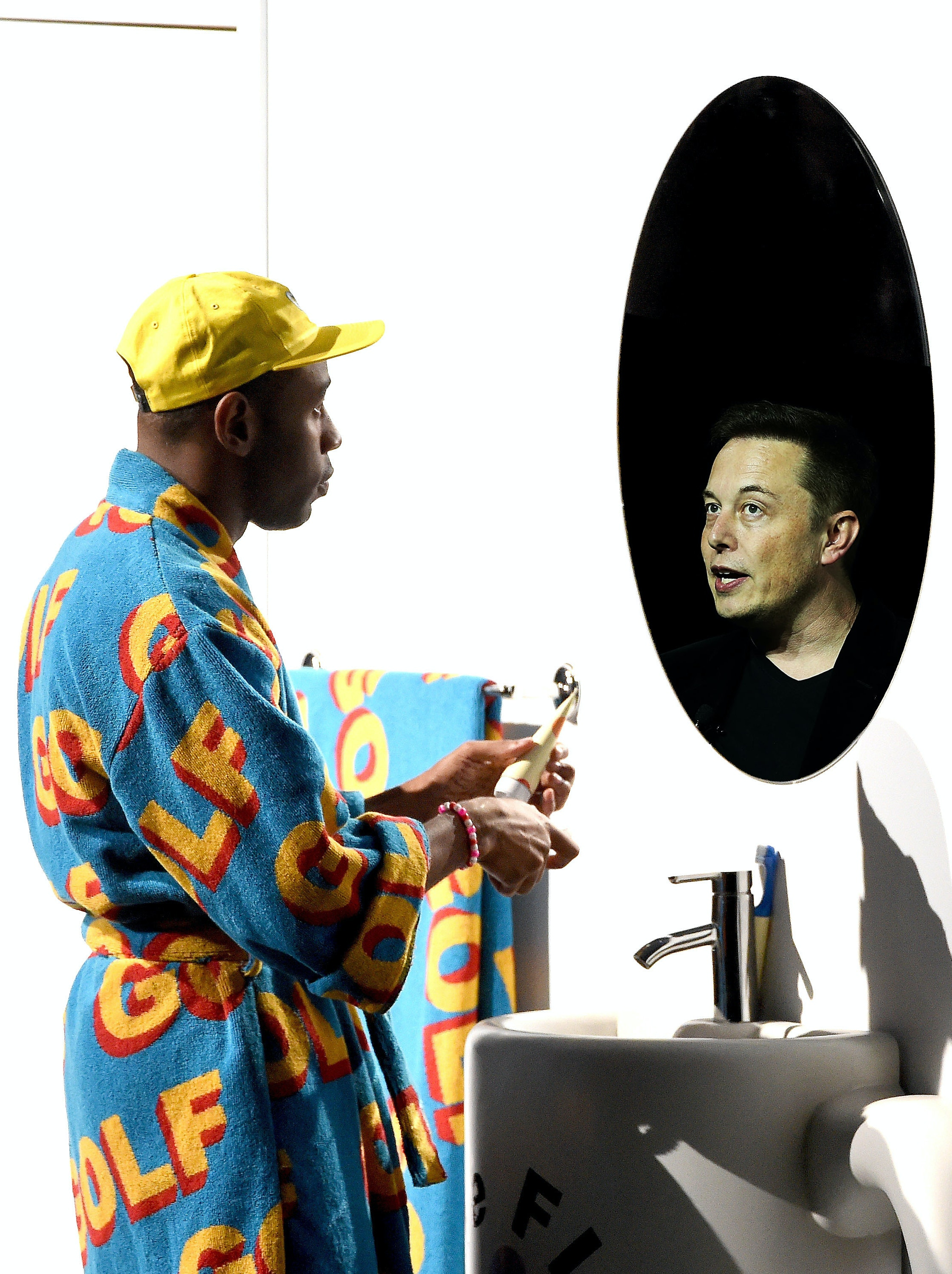 Tyler, the Creator and Elon Musk exchange love on Twitter a lot.