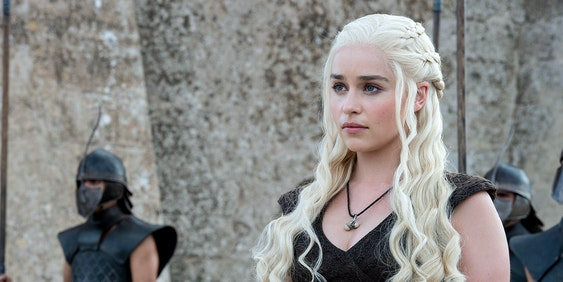 Daenerys Targaryen in 'Game of Thrones'