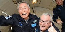 George Takei One-Ups Sulu By Experiencing Zero Gravity
