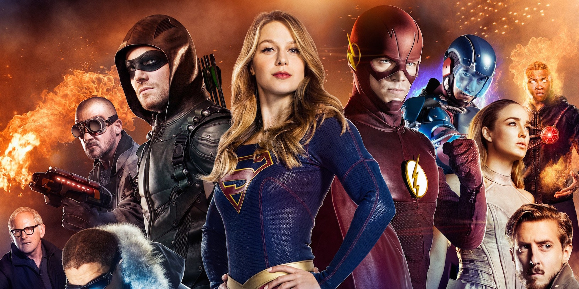 The new CW crossover event trailer is absolutely terrific.