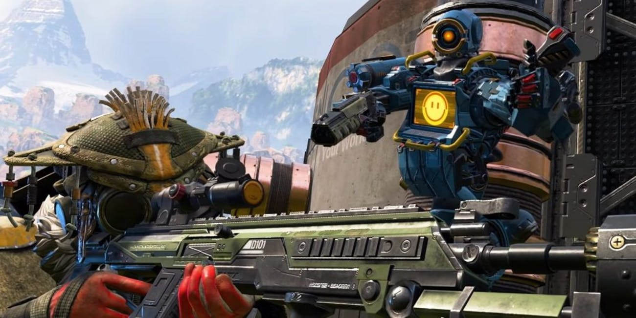 apex legends bloodhound pathfinder