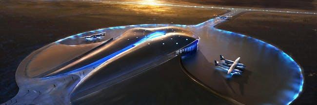 Terminal Hangar Concept, Spaceport AmericaSpaceport America Conceptual Images URS/Foster + Partners
