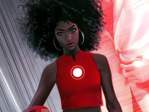 Marvel's New Riri Williams Cover Has a Lot of Fans Pissed Off
