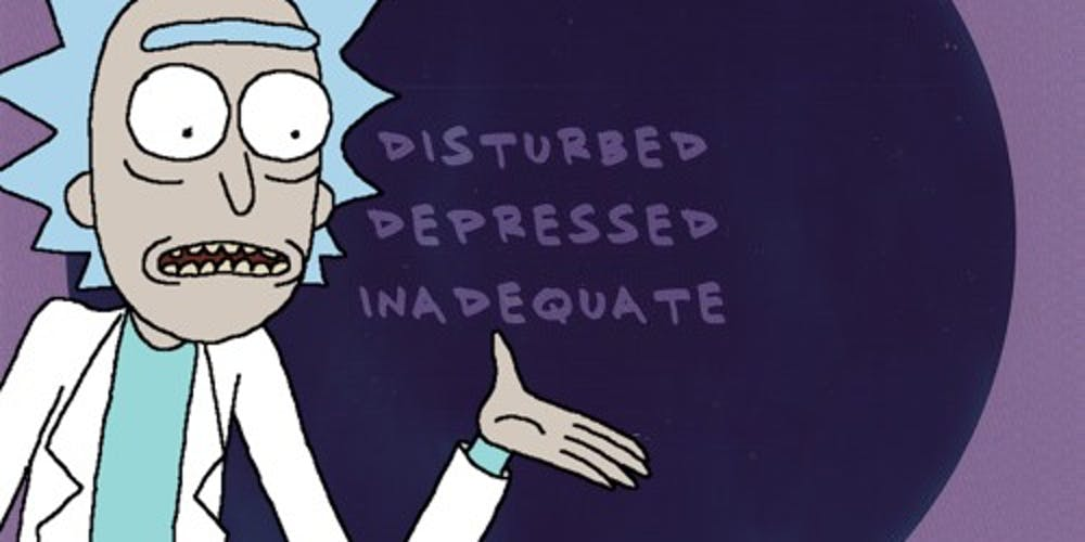 'Disturbed, Depressed, Inadequate'