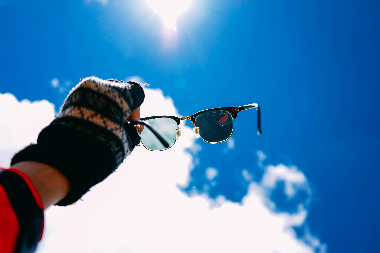 ray bans pink lenses