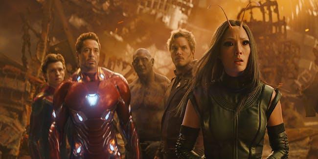 Avengers Infinity War Post-Credits Scene.
