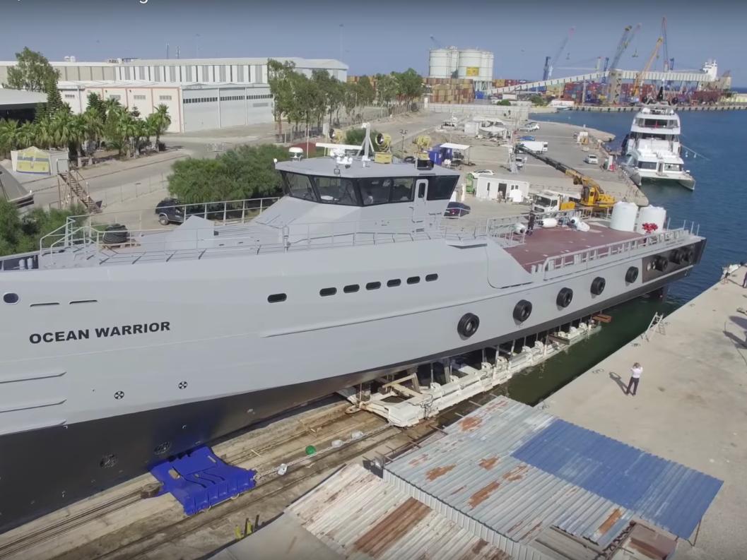 Sea Shepherd Ocean Warrior