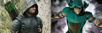 Oliver Queen Stephen Amell Arrow
