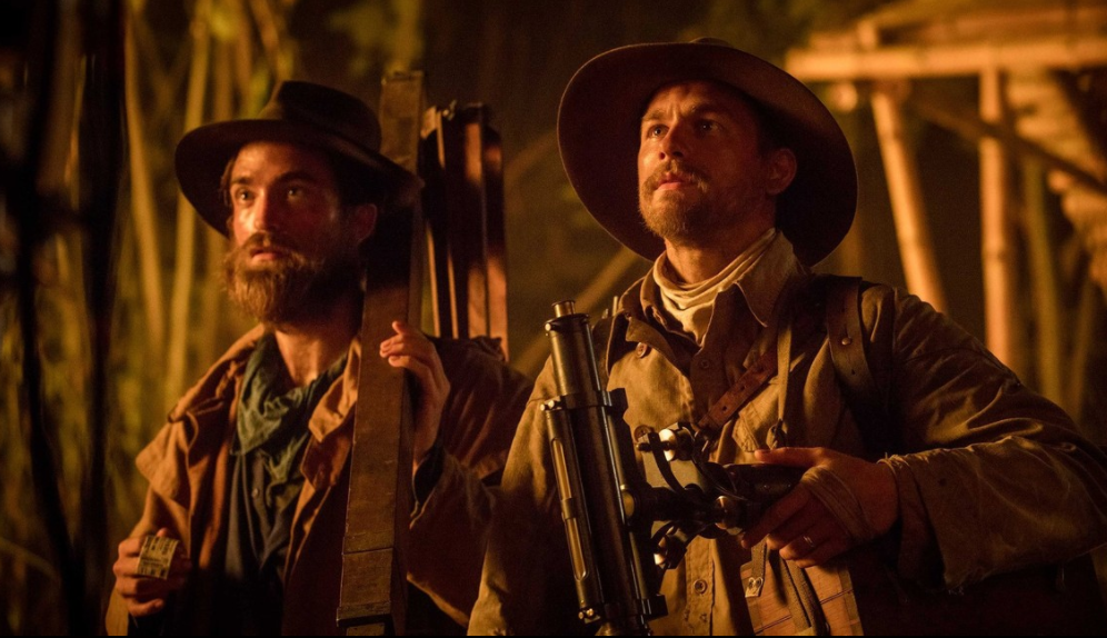 Robert Pattinson and Charlie Hunnam in 'The Lost City of Z'