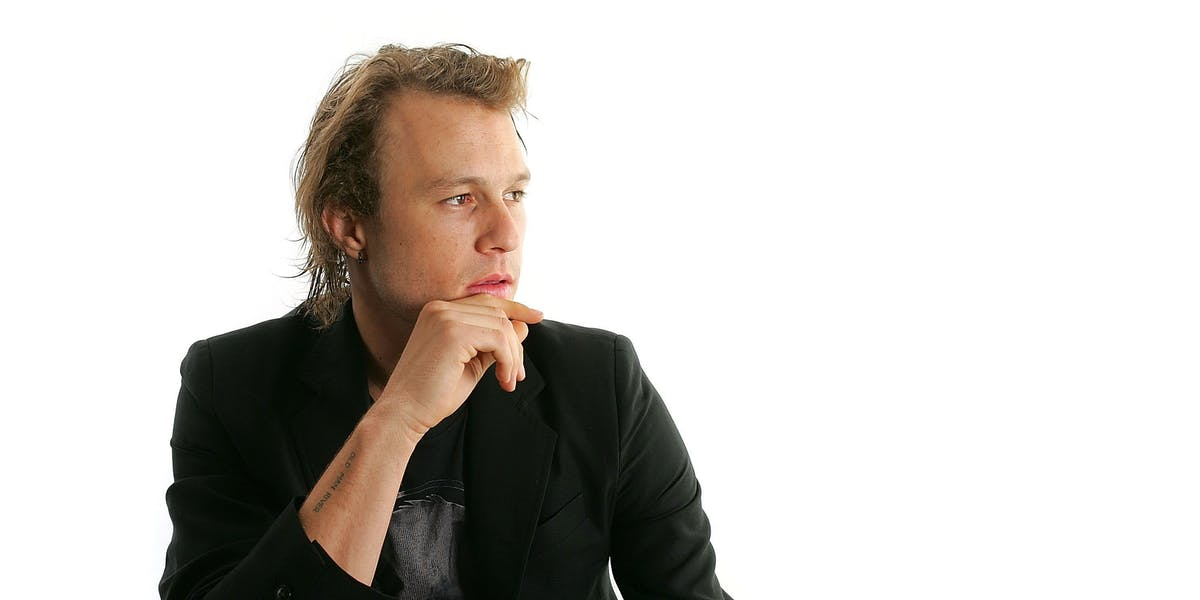 TORONTO - SEPTEMBER 08:  Actor Heath Ledger from the film 'Candy' poses for portraits in the Chanel Celebrity Suite at the Four Season hotel during the Toronto International Film Festival on September 8, 2006 in Toronto, Canada.  (Photo by Carlo Allegri/Getty Images)