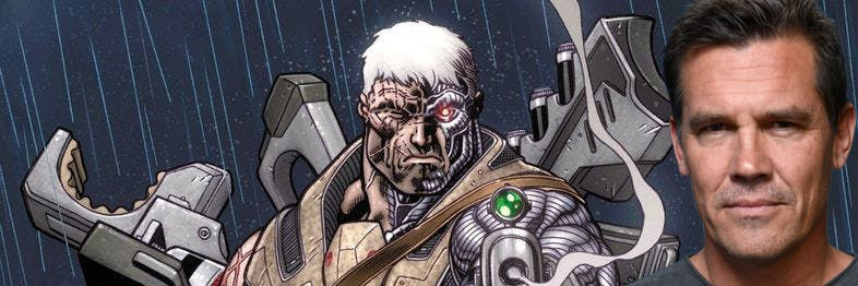 Cable is a cyborg mutant from the future.