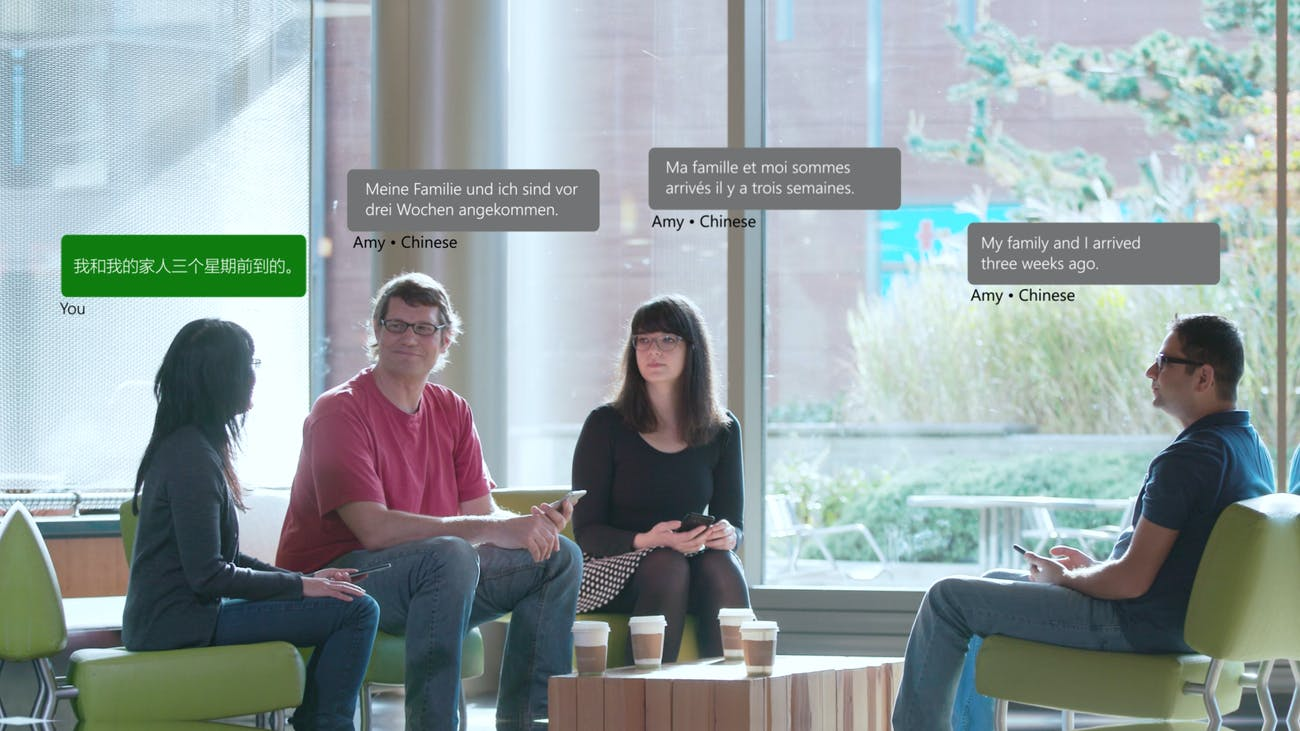 Machine Learning in Microsoft's Translation A I  Is Right Out of