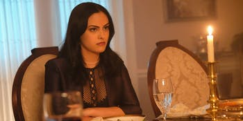 """Camila Mendes as Veronica in """"Chapter Sixteen: The Watcher in the Woods"""""""