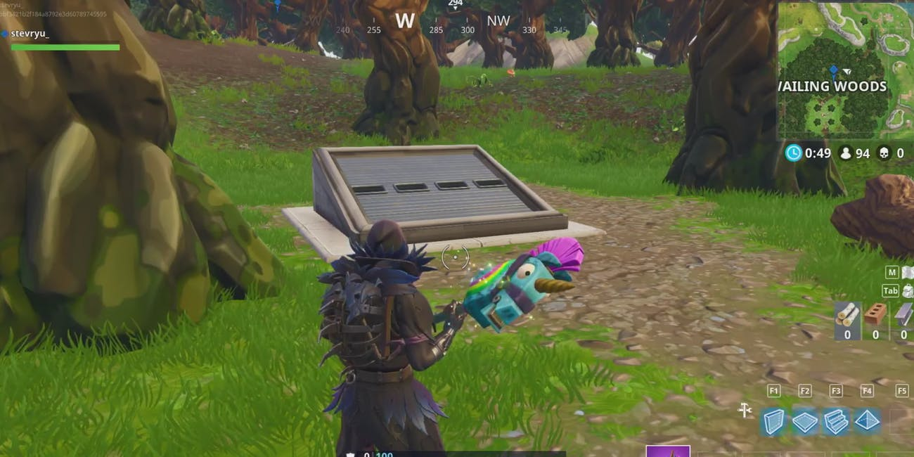 Fortnite Mysterious Hatch Has Half Life 2 Connection Inverse Easter Egg Circuit Will Makes Things