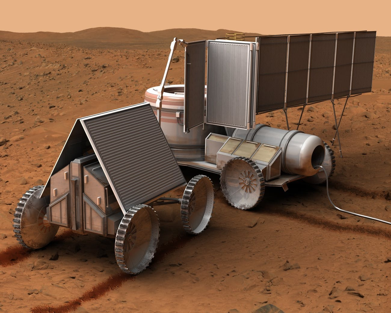 NASA Nuke Cart