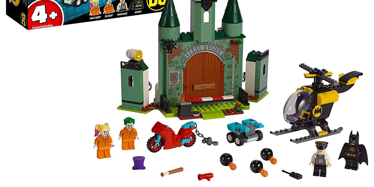 LEGO DC Batman: Batman and The Joker Escape 76138 Building Kit, New 2019