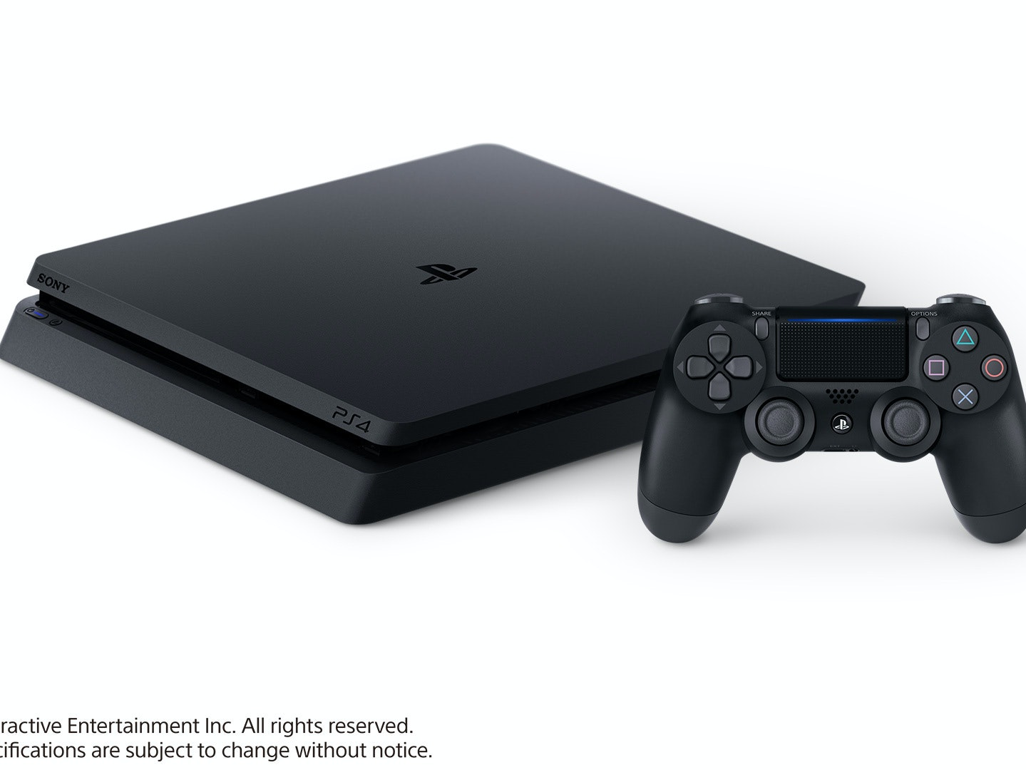 """The """"slim"""" PlayStation 4 isn't officially branded as the PS4 Slim, but that's what it is."""