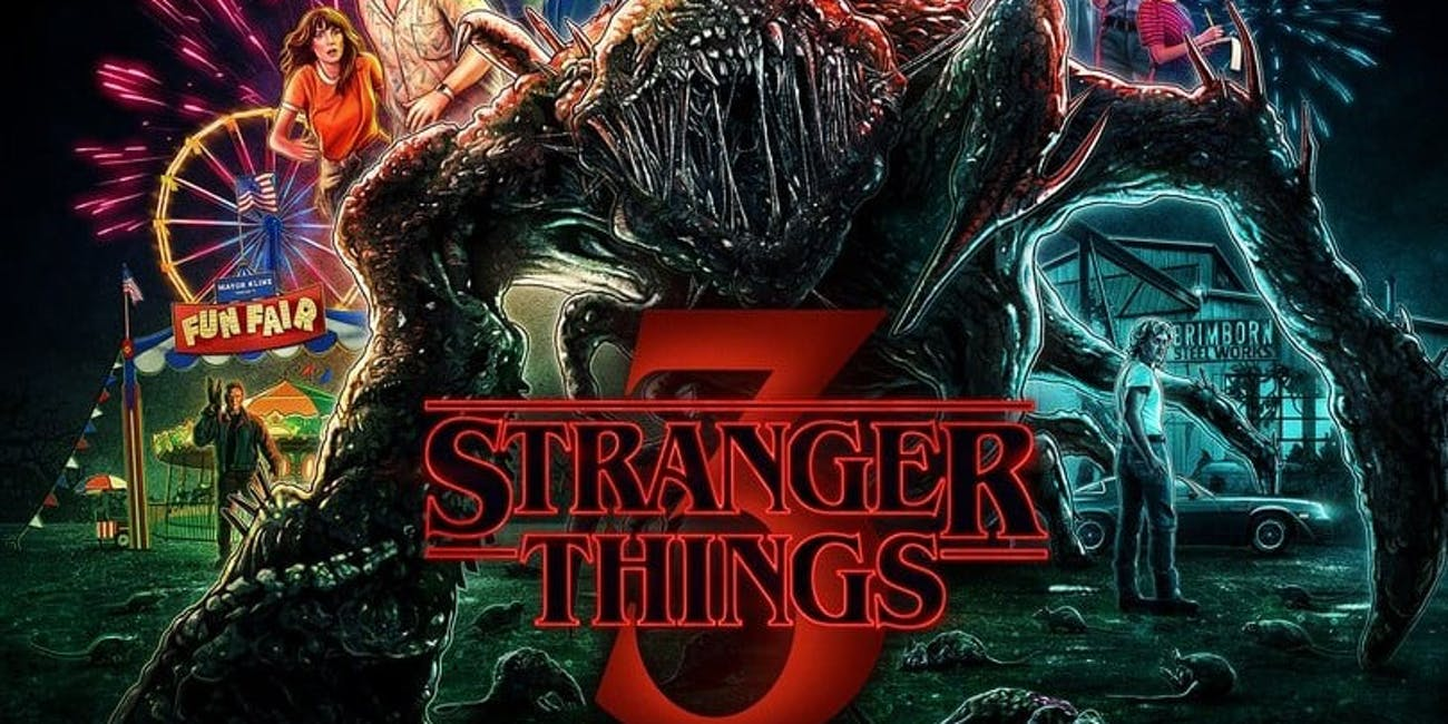 Stranger Things 3 monster